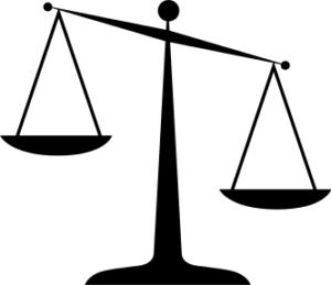 Cartoon of Scales
